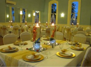 Table Setup by Strange and Sons Catering